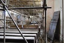 Kostel svatého Mikuláše v Maletíně prochází po dlouhých letech rekonstrukcí
