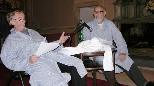 Petr Král a František Řehák (vpravo).