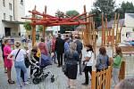 Nový divadelní parčík pro děti u šumperského divadla