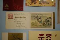 Výstava Novoročenky ve službách přátelství