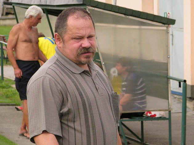 Vedoucí Leštiny Radek Pelcl