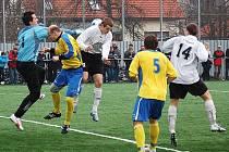 Šumperk (ve žlutém) porazil Kravaře