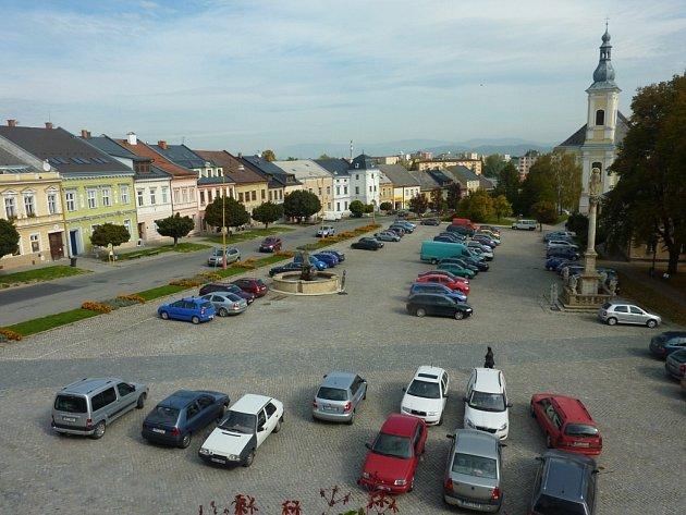 Zábřežská radnice připravuje rekonstrukci Masarykova náměstí.