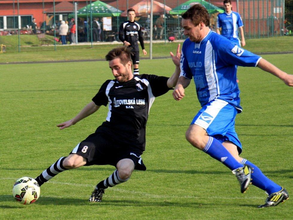 Zábřeh (v modrém) proti Litovli