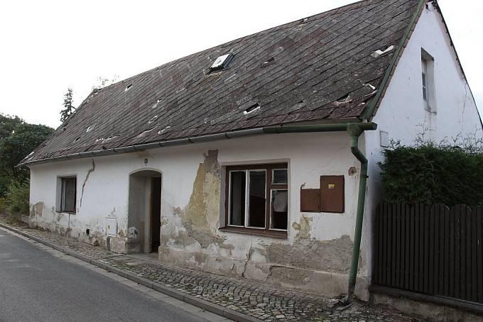 Domek Kandráčových ve Vidnavě na Javornicku.