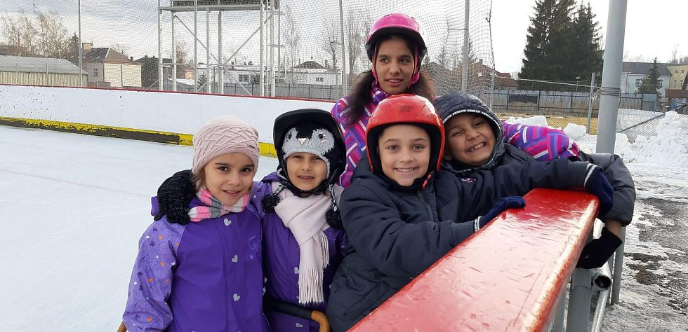 Děti z Dětského domova ve Vrbně pod Pradědem