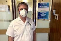 Primář chirurgického oddělení Jesenické nemocnice Petr Fischer.