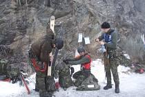 Winter Survival v Jeseníkách.