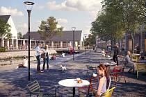 Vizualizace navrhované podoby centra Velkých Losin