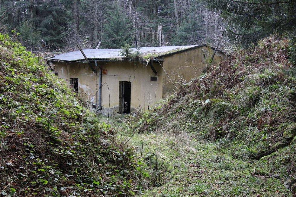 Bývalý vojenský areál zvaný Muna v Mikulovicích.