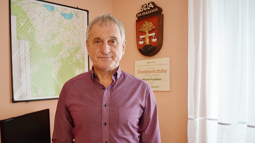 Starosta Bělé pod Pradědem Miroslav Kružík