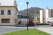 Za nejvíce dopravně nebezpečné místo považují obyvatelé Jeseníku křižovatku u hotelu Praděd.