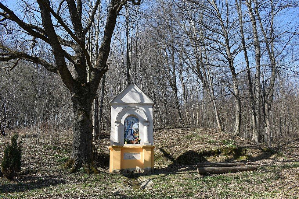 Mikulovice - pramen u obchvatu Mikulovic