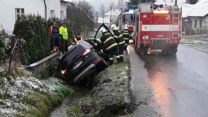 Tragická nehoda v Hrabenově, místní části Rudy nad Moravou