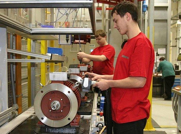 V mohelnickém Siemensu dnes pracuje téměř patnáct set zaměstnanců