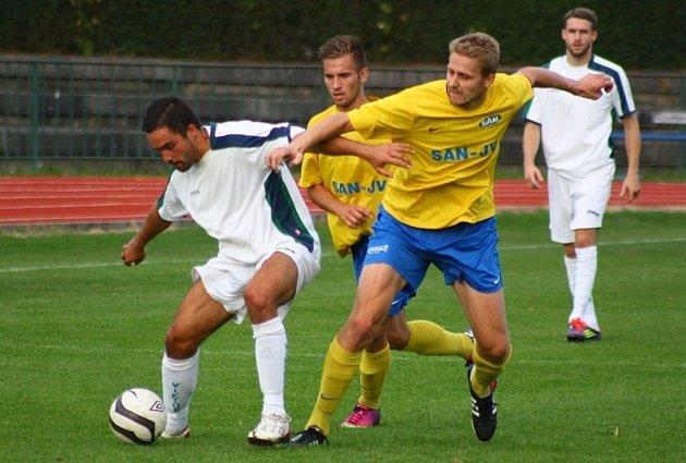 Šumperk versus Otrokovice (bílé dresy).