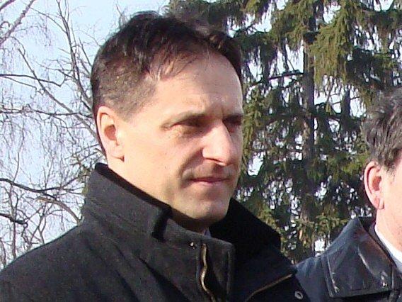 Starosta Zábřehu Zdeněk Kolář.