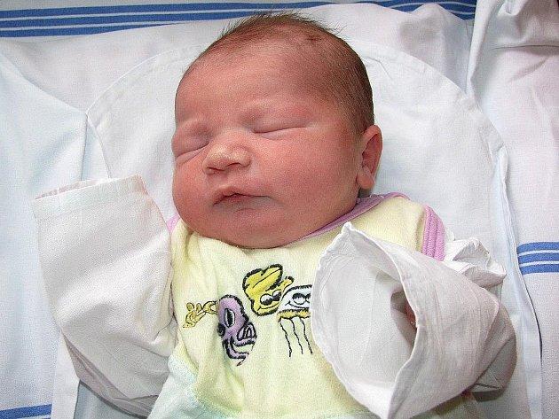 Tisící miminko letošního roku narozené v Šumperské nemocnici Anetka.