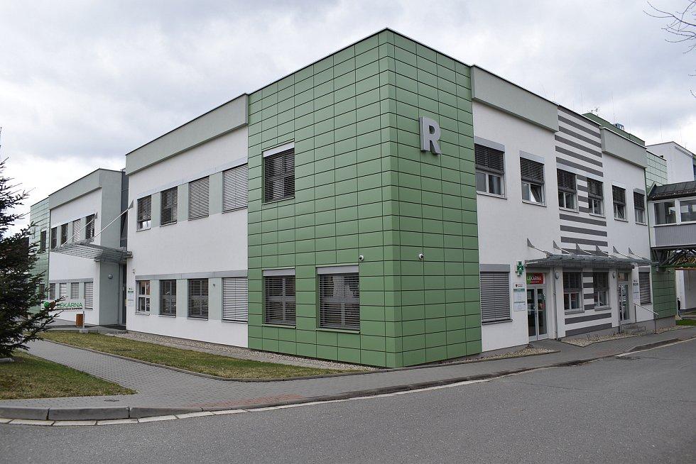 Nemocnice Šumperk. Pavilon R