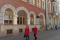 Informační centrum v Šumperku v budově divadla.