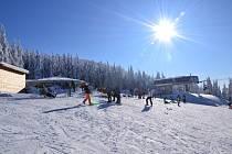 Ski areál Kouty.