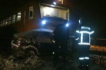 Snímky z místa smrtelné nehody v Bartoňově