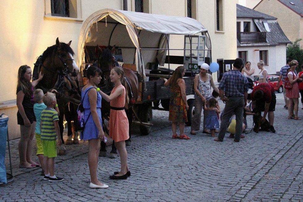Zámek v Zábřehu ožil Radniční nocí.
