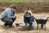 Archeologické vykopávky na Dubicku