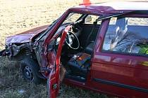Důsledky nepozornosti osmasedmdesátiletého řidiče