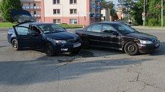 Nehoda v Šumperku 21.5.2017