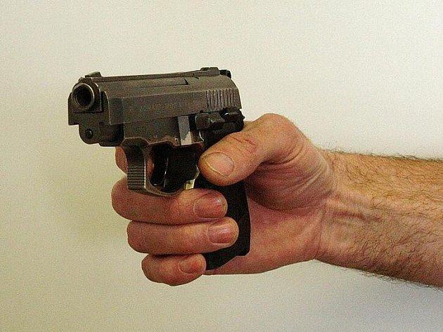 Zajištěná plynová pistole