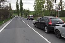 Nehoda mezi Šumperkem a Bludovem