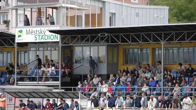 Největší investicí do sportu v Zábřehu byla v loňském roce dostavba a rekonstrukce hlavní tribuny stadionu.