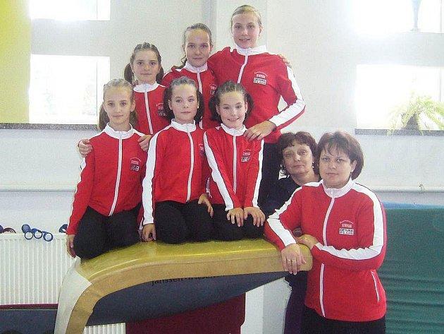 Šumperské gymnastky v Nyse