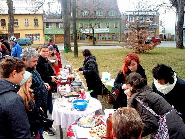 Akce Restaurant Day se v Jeseníku