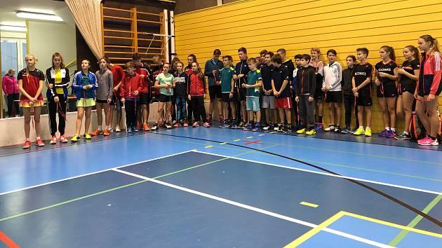 Badmintonisté na domácím turnaji nezklamali.