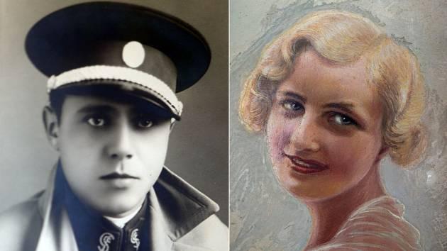 Příslušník čs. finanční stráže Zdeněk Dopita se na konci třicátých let v Javorníku zamiloval do krasavice z tamní německé honorace