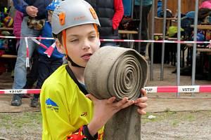Mladí hasiči Temenice