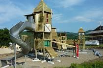 Nové dětské hřiště bude v Loučné nad Desnou dokončeno v červenci