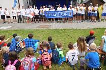 Dny Javornicka zahájil ve čtvrtek 16. června celoevropský mírový běh.