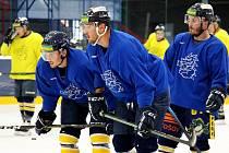 Úvodní trénink Draků na ledě ve čtvrtek 22. července