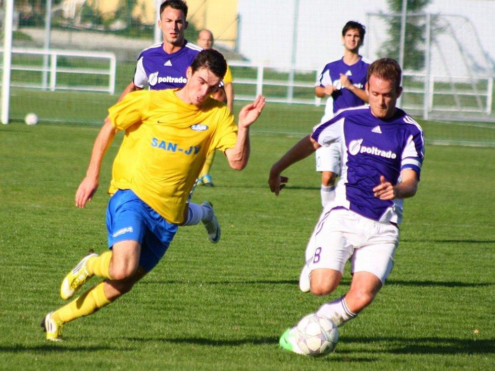 Mohelnice versus Šumperk (žluté dresy).