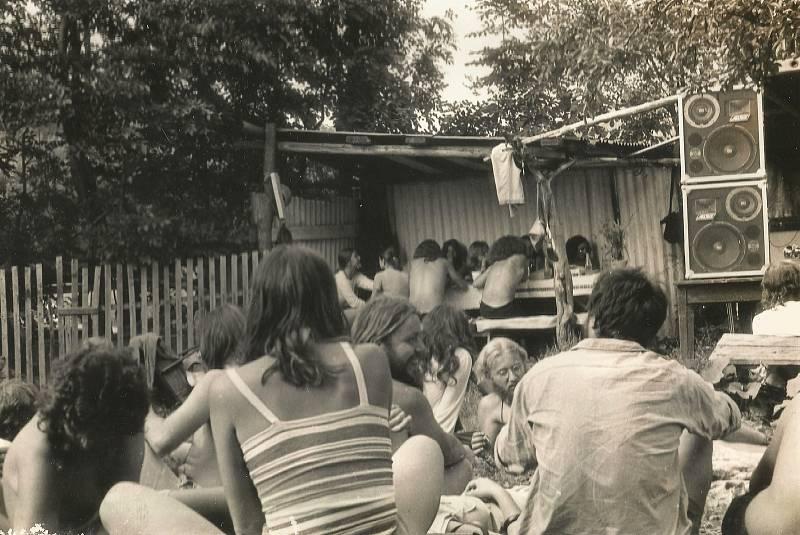 Antirockfest v roce 1986 v Oskavě.