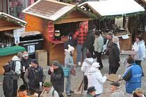 Šumperské vánoční trhy na Točáku