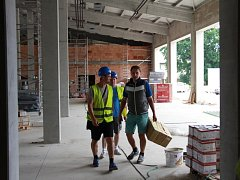 Výstavba nové hasičské stanice v Šumperku