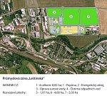 Vizualizace papírny a teplárny firmy Wanemi v průmyslové zóně v Zábřehu.