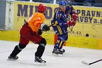 Hokejová příprava: Draci versus Hradec Králové (žluté dresy)