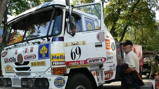 Karel Loprais a jeho Tatra Dakar