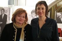 Marta Marková byla hostem projektu Galerie Lautner v Mohelnici.