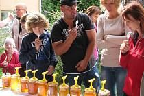 Medový den v areálu Střední odborné školy v Šumperku